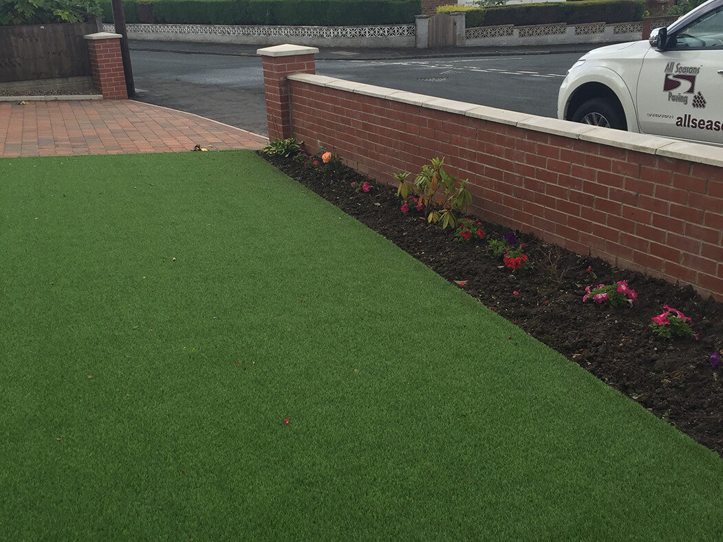 artificial grass/lawn done in lancaster