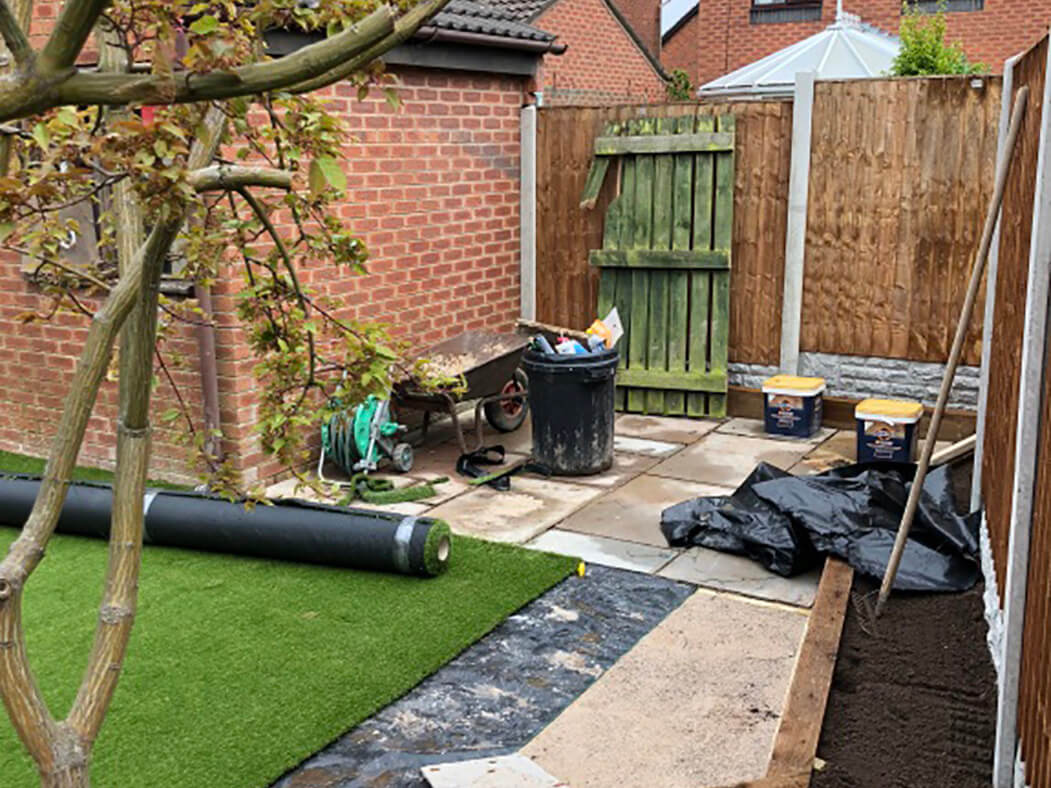 process of artificial lawn in lancashire