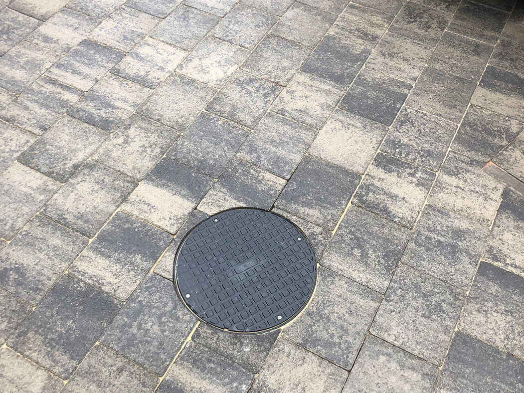Another Close Up of Block Paving Driveway in Morecambe, Lancashire