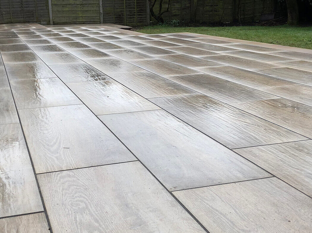 wood effect porcelain patio lancaster