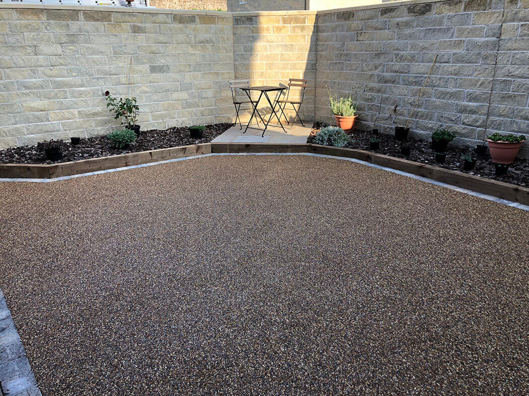 Resin Bound Patio in Lancaster