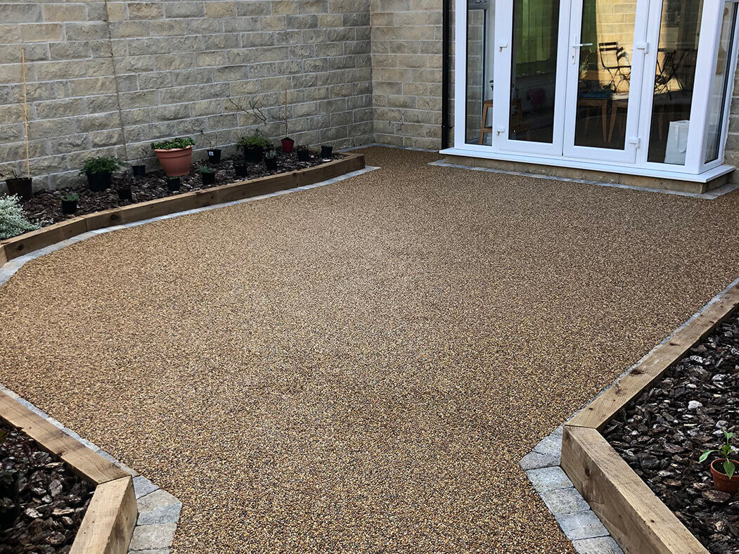 resin-bound patio morecambe / lancaster