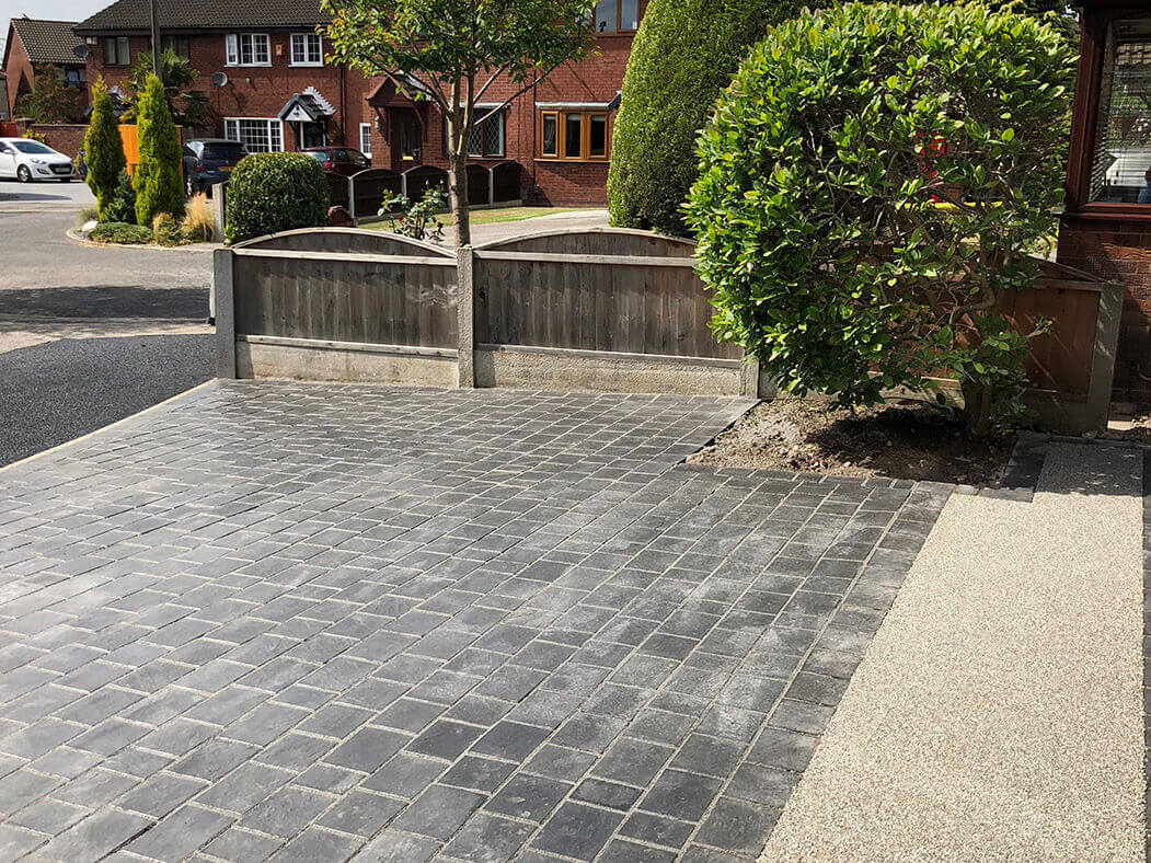front driveway resin morecambe
