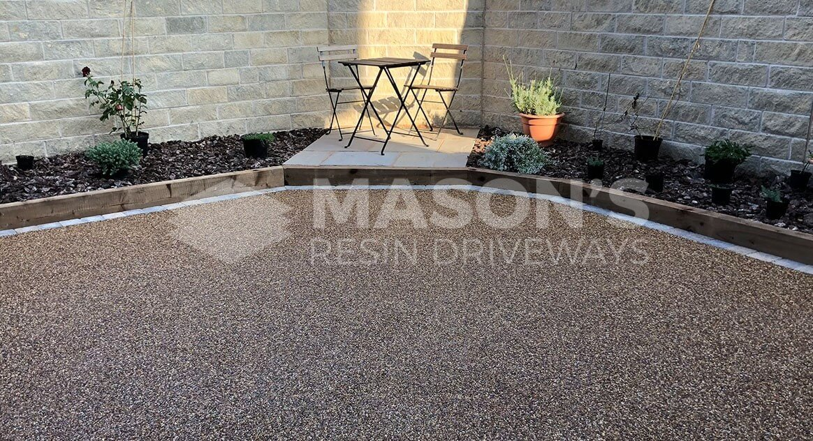 Resin Bound Patio in Lancashire