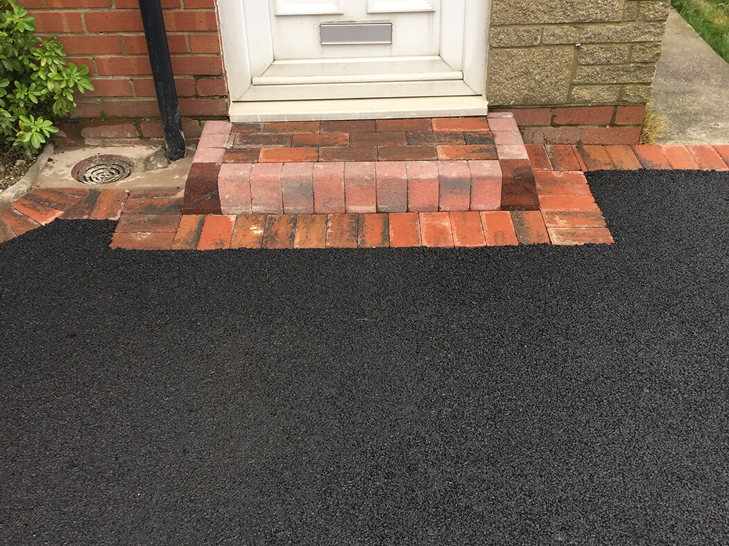 Step of Framed Tarmac Driveway in Morecambe