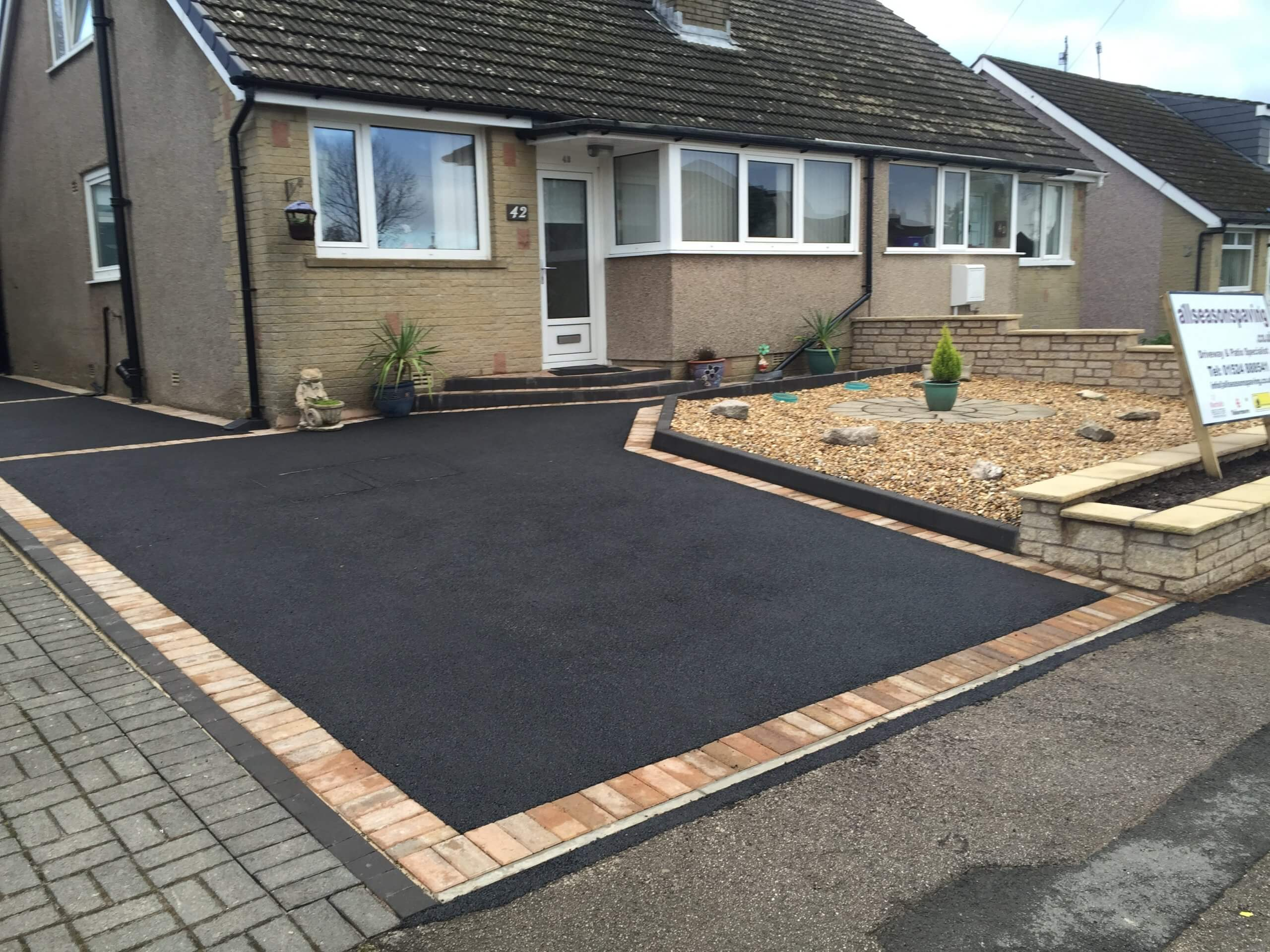 Picture Framed Tarmac Driveway, Lancaster