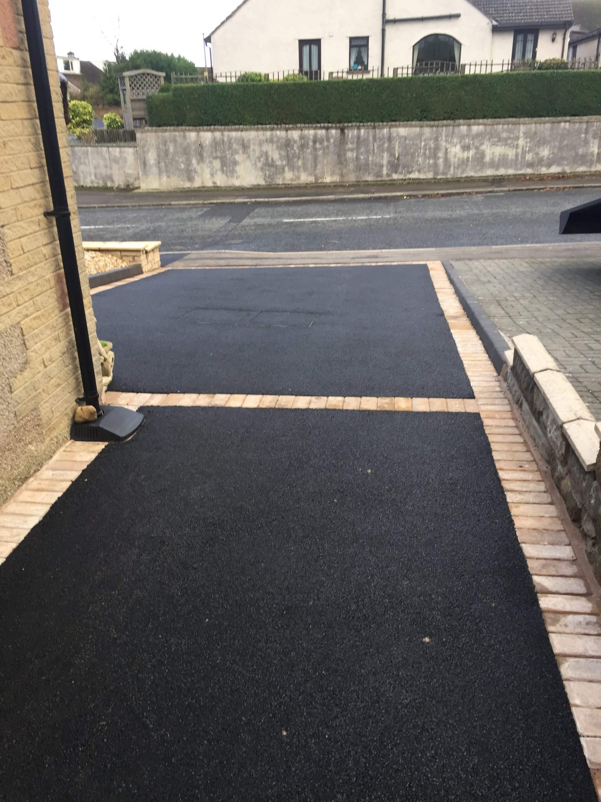 Block Paving Picture Framed Tarmac Driveway in Lancaster