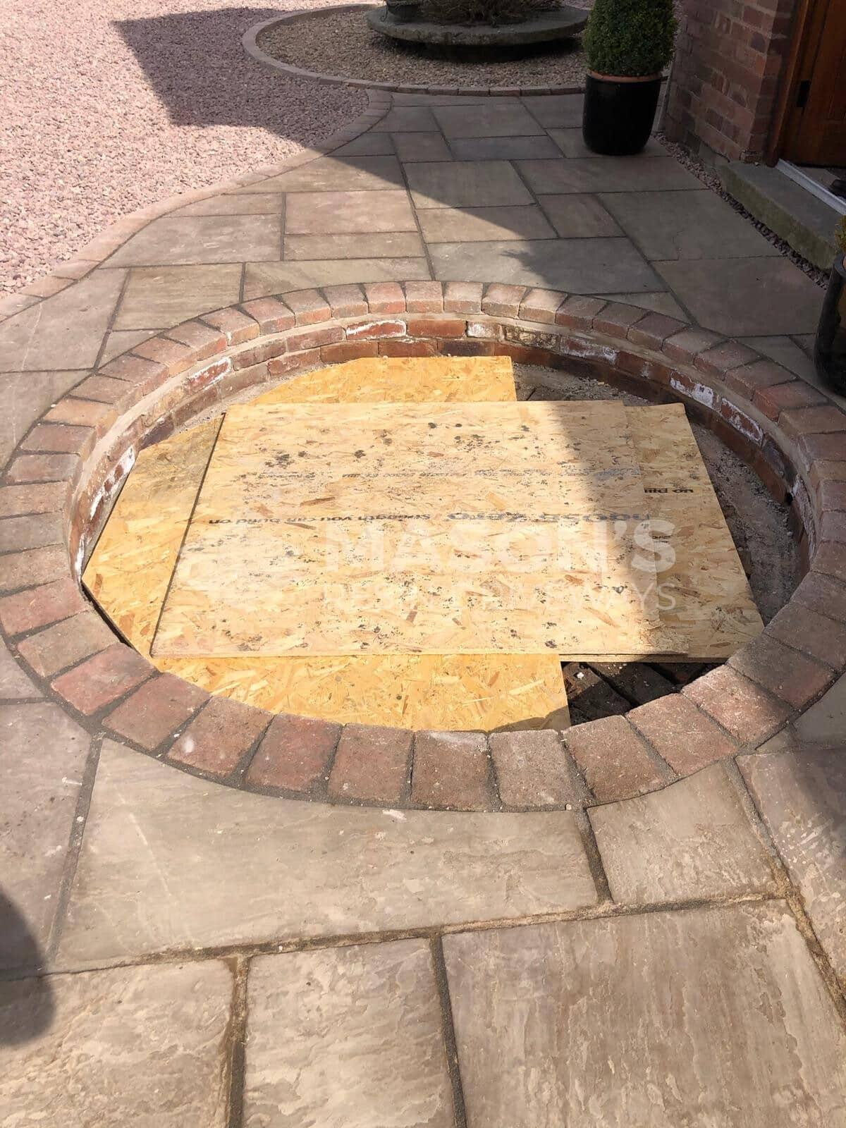 circle details of indian stone kerbing
