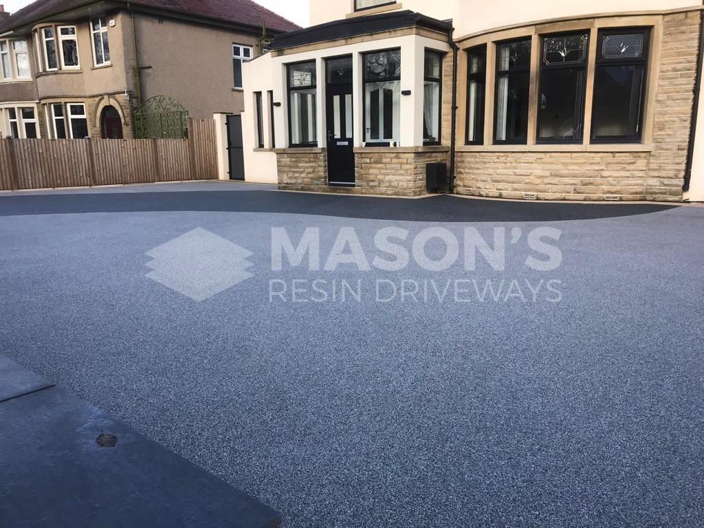 aluminium edgings resin driveway morecambe