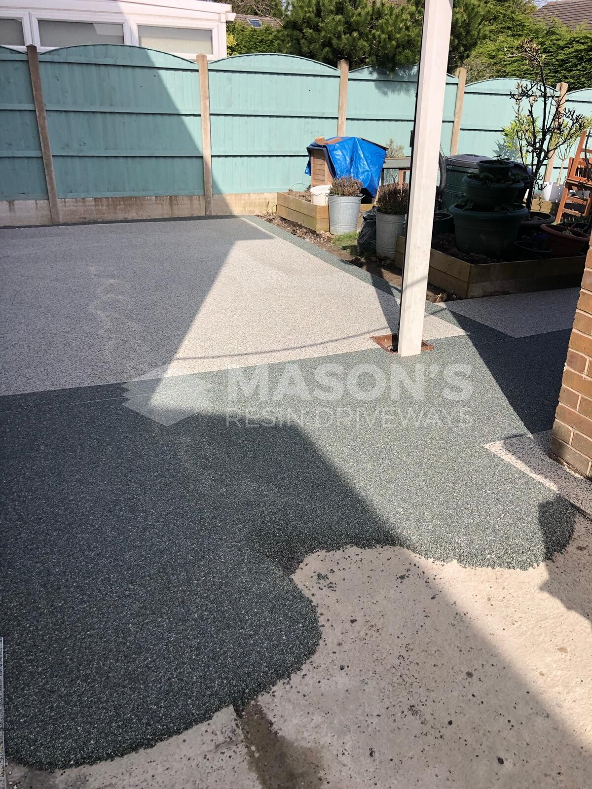 slate grey resin bound aggregate aspen borders